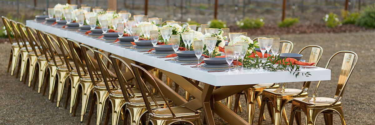 tre posti table setting
